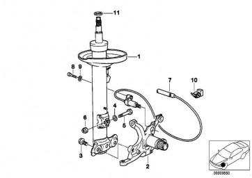 Schraube Sturzkorrektur M12X45 3er Z3  (07119900587)