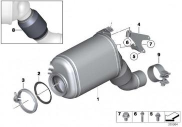 Austausch Dieselpartikelfilter EU6             X6 X5 5er X3 6er 7er 3er 4er  (18308513526)