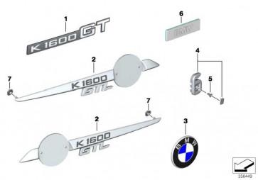 Schriftzug rechts GTL             K48  (51148545116)