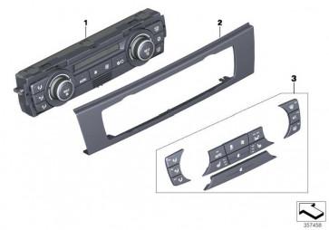 Frontplatte Bedienteil Klimaautomatik  3er  (64116966407)