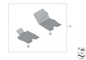 Satz Fussmatten Velours Einfassung Leder   (51477408649)