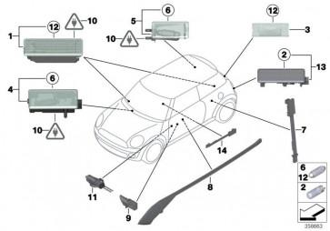 Lichtleiter Türablage links (63312754021)