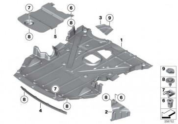 Motorraumabschirmung vorn  Z4  (51757191073)