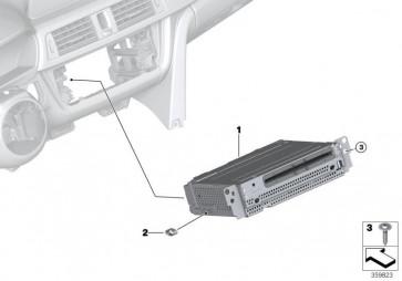 Austausch Headunit Basic Navigation (65128791773)