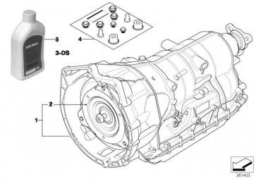 Austausch Automatikgetriebe EH GA6HP19Z        5er  (24007527711)