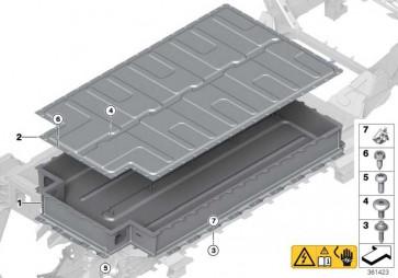 Deckel Hochvolt-Batterie  i3  (61277625062)