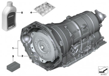 Austausch Automatikgetriebe EH GA6HP26Z        (24007590346)