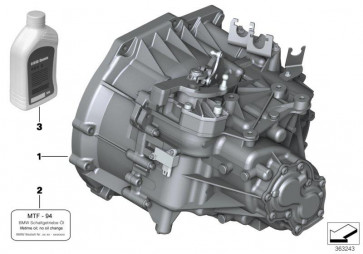 Austausch 6 Gang Getriebe GS6X53BG - TCJ2 (23009812885)