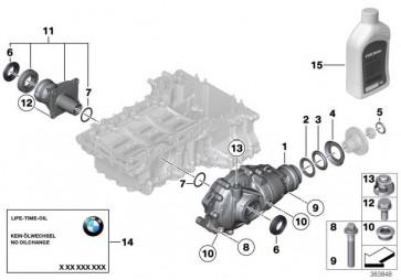 Austausch Vorderachsgetriebe I=2,65 7er 5er 1er 2er  (31507589156)
