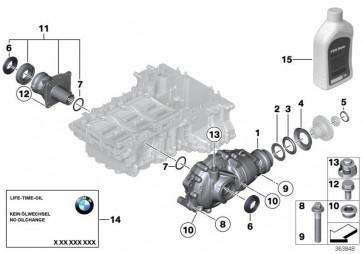 Austausch Vorderachsgetriebe I=2,81          (31507619364)
