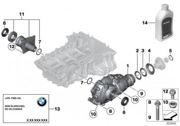 Vorderachsgetriebe I=2,81 (31508623110)