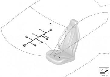 Kabelsatz Sitz Fahrerseite (61129339278)