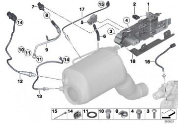 Halter Sensor  5er X3 6er 7er 3er 4er X5 X4 X6  (13628574748)