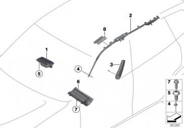 Seitenairbag Sitz vorne links  X3 X4  (72127238531)