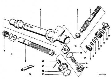 Sprengring   3er 5er 6er Z3  (32311113566)