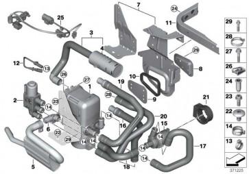 Kabelsatz Standheizung  X3 X4  (64129330833)