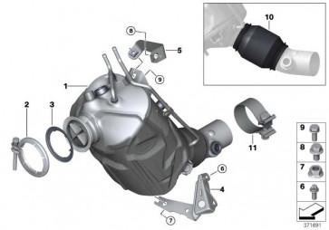 Halter motornaher Katalysator  X3 X4 5er 2er 1er 3er 4er  (18208572331)