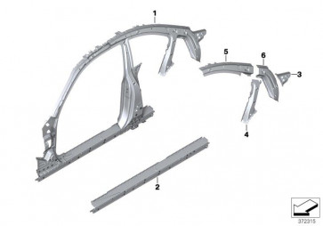 Verstärkung C-Säule rechts (41217342110)