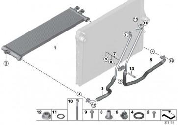Motorölkühlerleitung Vorlauf  3er 4er  (17222358290)
