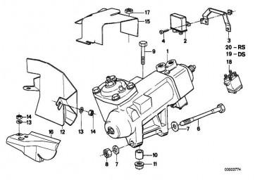 Austausch Hydrolenkgetriebe Servotronic  7er  (32131138566)