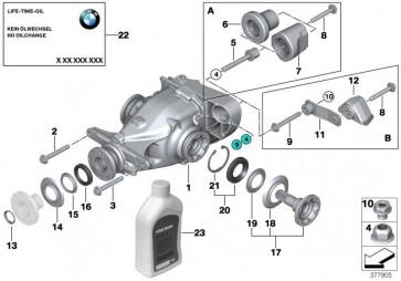 Austausch Hinterachsgetriebe I=3,15 (33107591074)