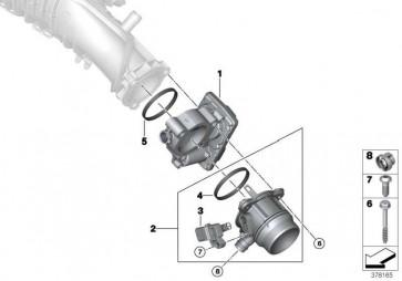 Ladeluftrohr  MINI X3 X4 5er 2er 1er 3er 4er X1  (11618511339)