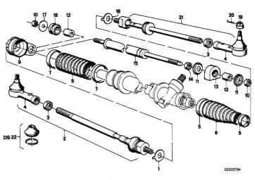 Spannband  3er 5er M1 Z3 Z8  (32111137132)