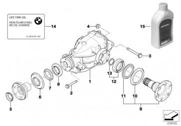 Austausch Hinterachsgetriebe I=3,64 3er  (33107533136)