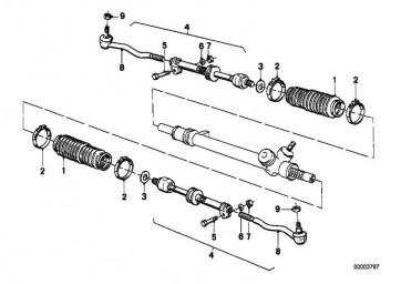 Kugelgelenk links  3er  (32211701037)