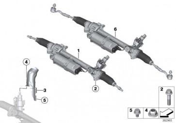 Austausch Lenkgetriebe elektrisch  X3 X4  (32106870511)