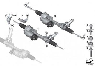 Austausch Lenkgetriebe elektrisch TKP 1er 3er 4er  (32106869010)