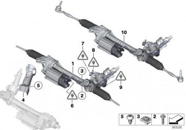 Austausch Lenkgetriebe elektrisch  5er  (32106868353)