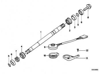 Sechskantschraube M14X1,5         1er 3er 5er 7er 8er X1 X3 X5 X6 Z3 Z4 Z8 MINI  (32306795924)