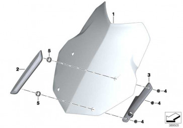 Windschildhalter rechts   (46638556016)