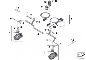 Kabelbaum Zusatzscheinwerfer  K54  (77518553657)