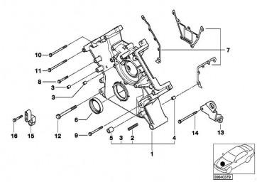 Sechskantschraube mit Scheibe M8X95-ZNNIV SI 1er 3er 5er 7er X5 Z8 MINI  (07119905880)