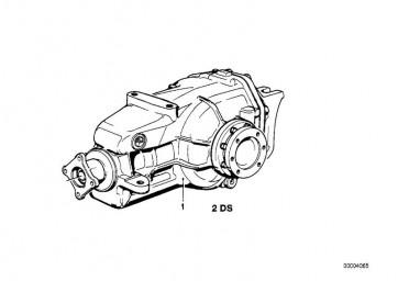 Austausch Hinterachsgetriebe Sperre 25% I=40:11=3,64 (33101213039)