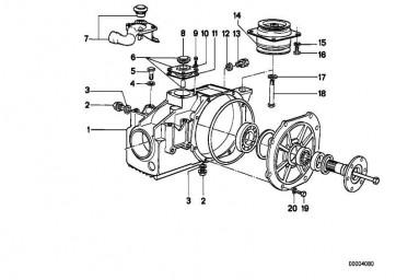 Gummilager RUND             5er 6er  (33171126951)
