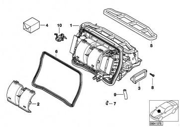 Getriebe Klappenstellung  3er X3  (64118386936)