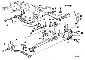 Sechskantschraube M14X1,5X45      8er  (07119911653)