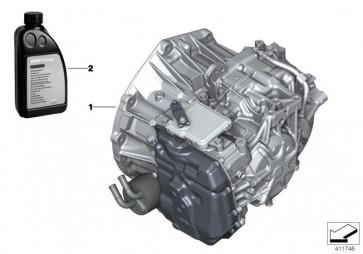Austausch Automatikgetriebe EH GA8F22AW (24009486721)