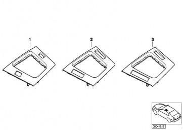 Boden Ablegefach grundiert  3er  (51167904023)