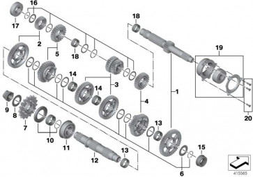 Torxsenkschraube M5X18 K46 K42 K47 K49 i8  (21007717574)