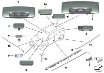 Lichtleiter Instrumententafel  2er  (61319312505)