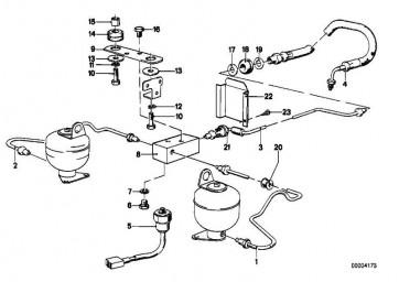 Rohrleitung M10/M10-780MM    3er 5er 6er 7er Z1 Z3  (34326755592)