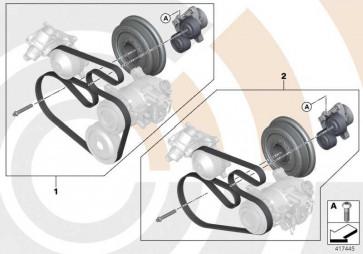 Reparatursatz Riementrieb komplett VALUE LINE 3er X1  (11282365965)