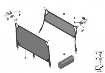 trennnetz vorn 2er 51477399191. Black Bedroom Furniture Sets. Home Design Ideas