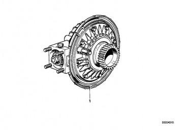 Hinterachsgetriebe Scheibenbremse I=32:11=2,91    R  (33111239121)