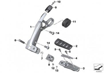 Flachkopfschraube M4X12 (07119909614)