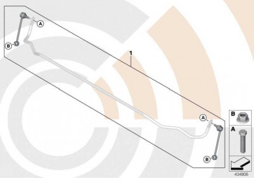 Reparatursatz Pendelstützen VALUE LINE 3er 1er  (33322406281)